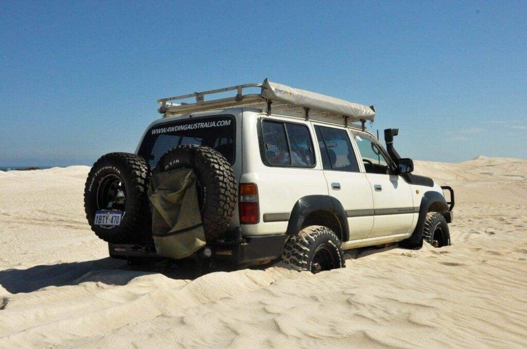 Lancelin dunes 4x4