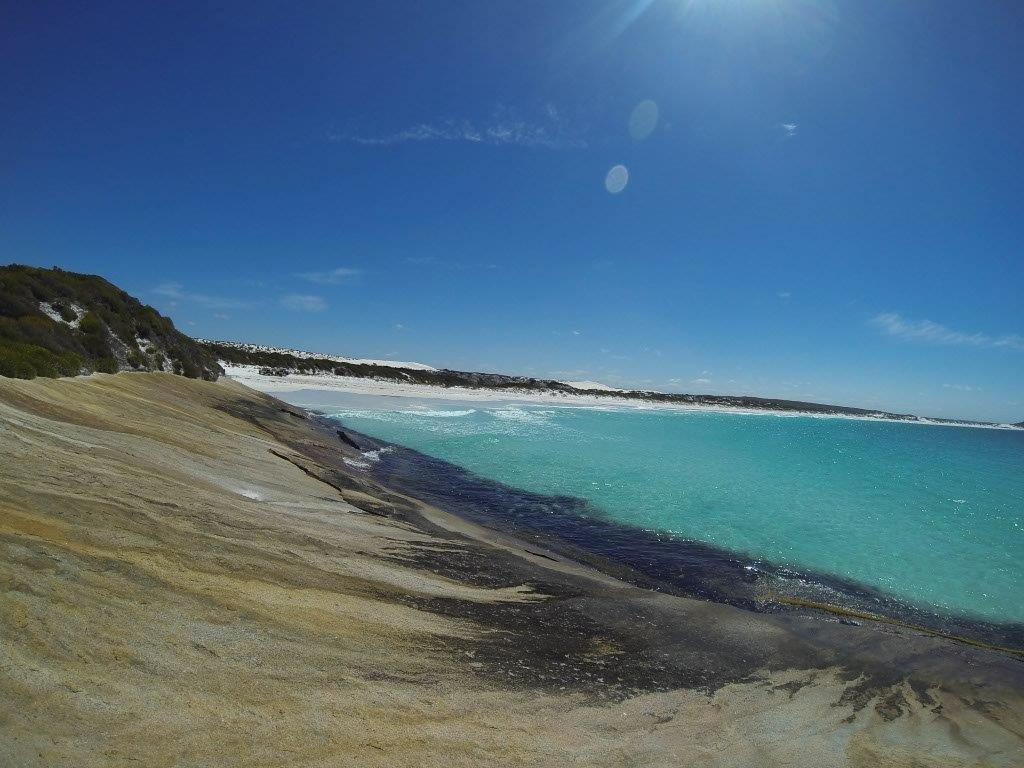 Spectacular beaches at Thomas River