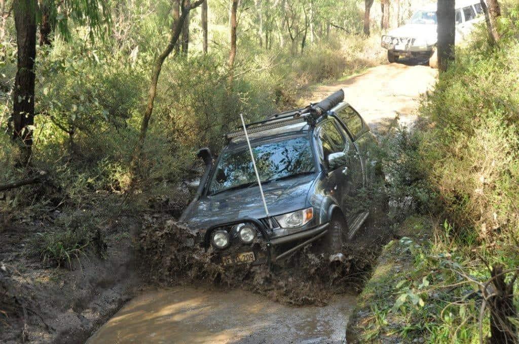 Triton hitting the mud