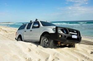 Navara Beach driving