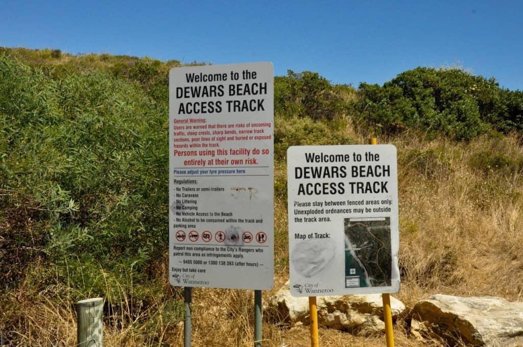 Dewars Track Two Rocks