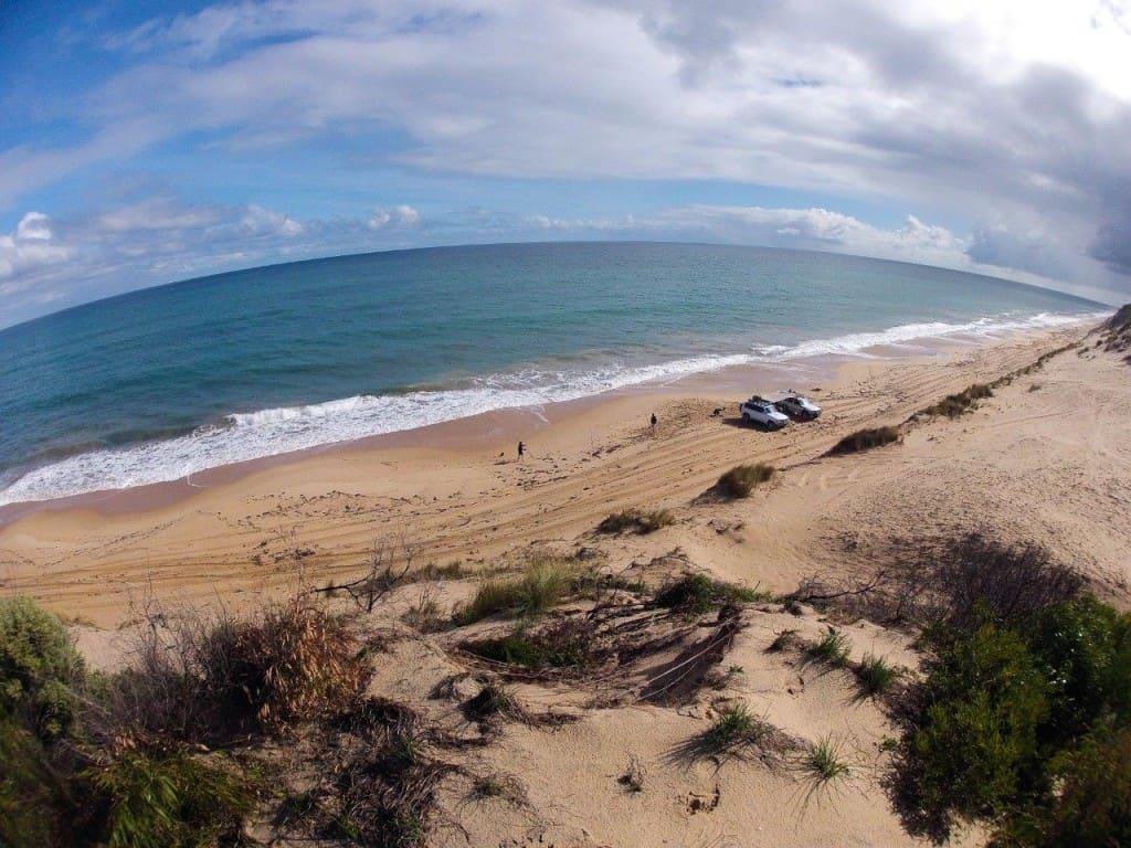 Perth Beach Driving