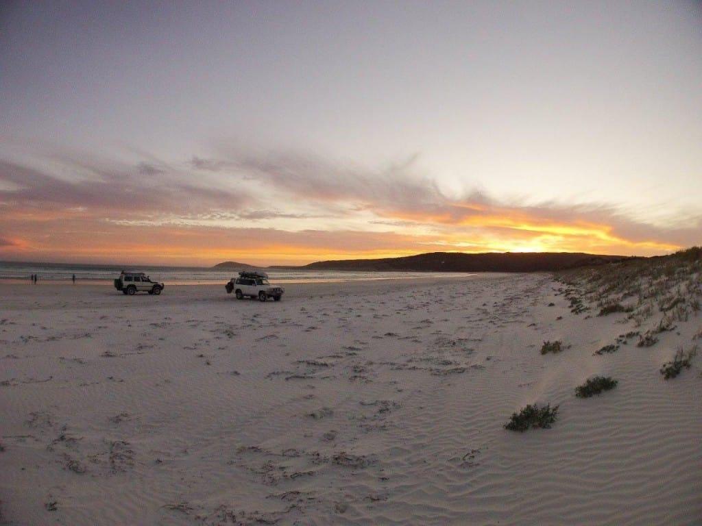 Amazing holiday sunset