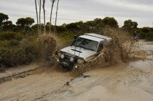 V8 cruiser mud splash