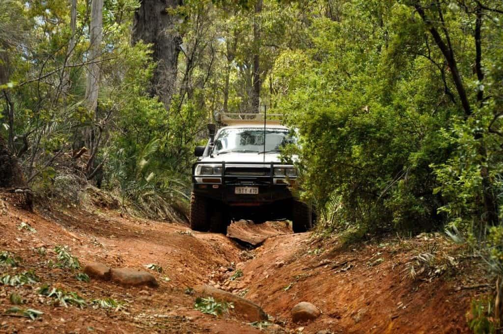 4WD fuel range