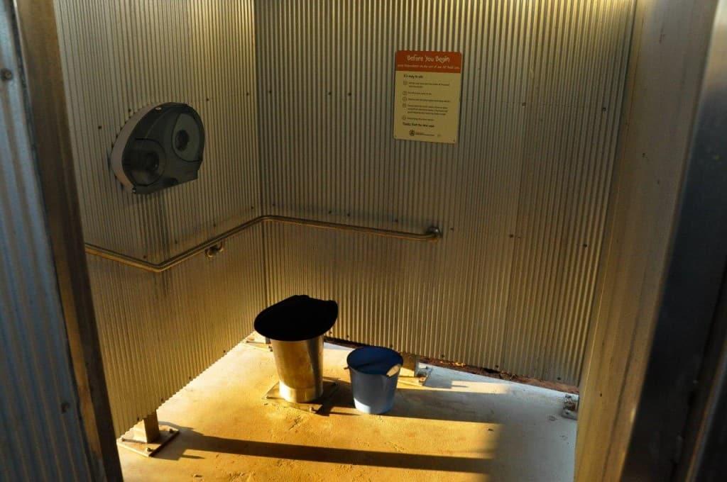Sanitation when camping