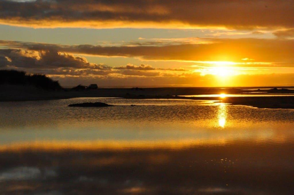 Yeagarup sunset