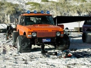 Rearranged Rover at Lancelin