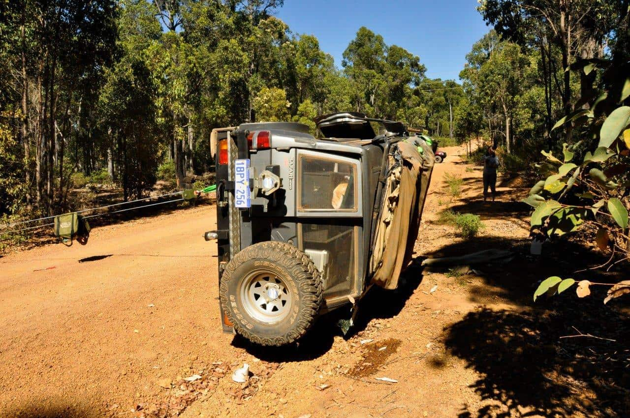 4WD recovery dampener