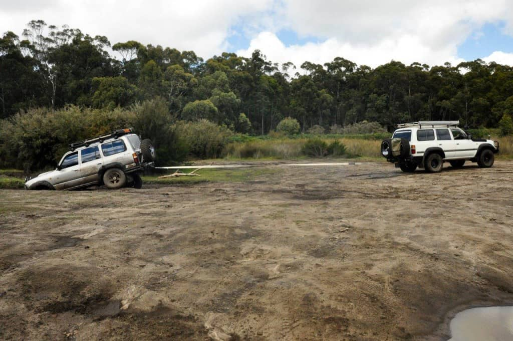 4WD recovery at Waroona