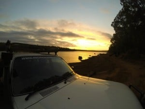 Wellington Dam Sunset