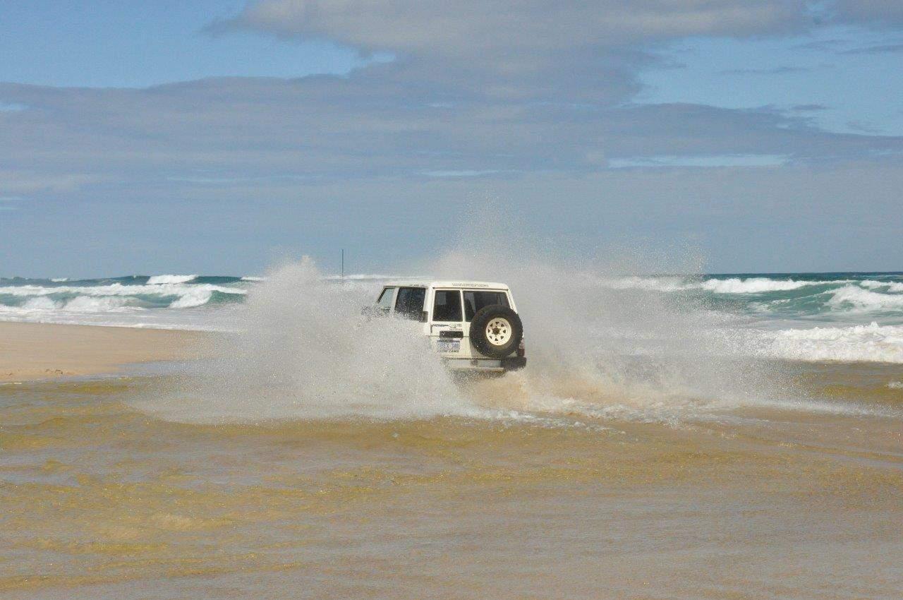 Salt water crossing