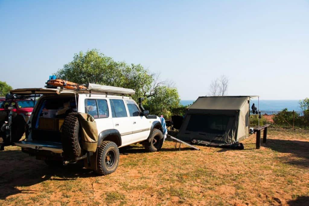 4WDing Australia at Kooljaman