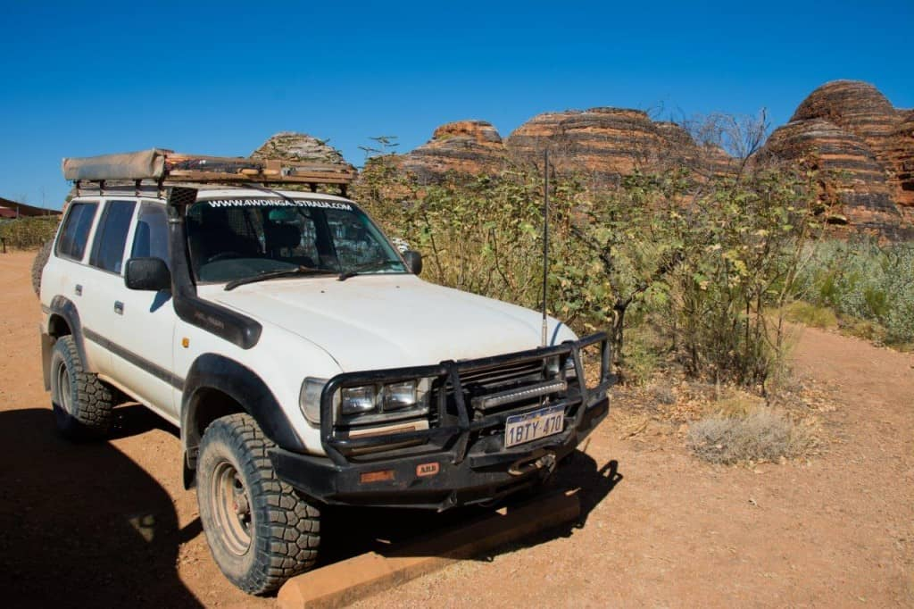 4WDing Australia at the Bungles