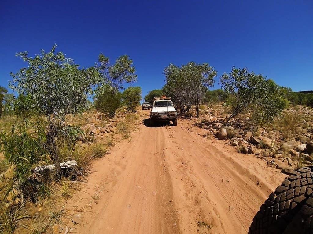 4WDing around El Questro