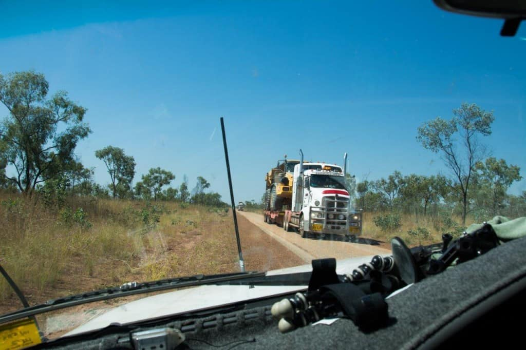 A big load on the Gibb River Road