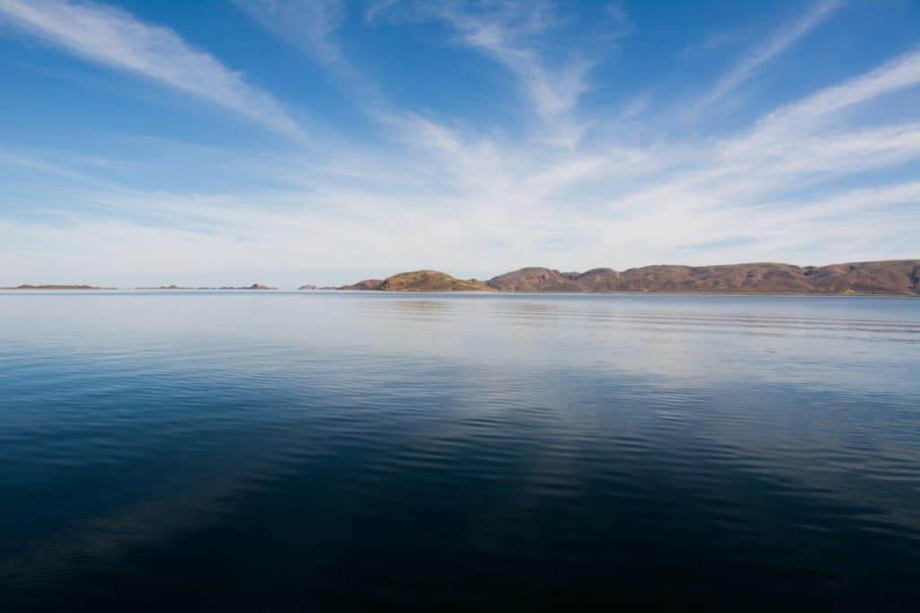 Amazing reflections at Lake Argyle