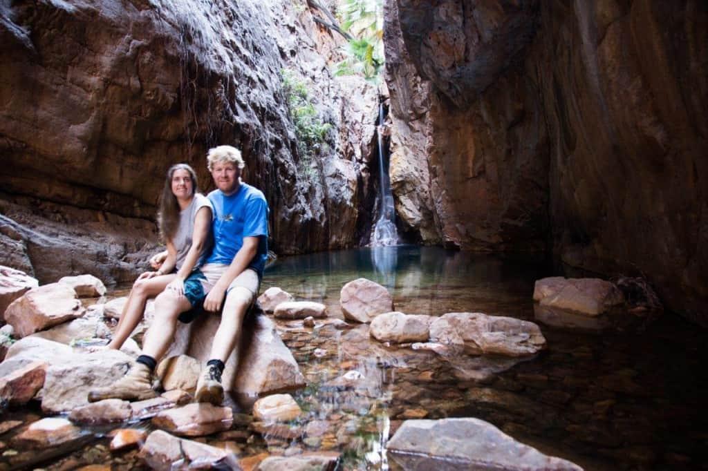 At the end of El Questro Gorge