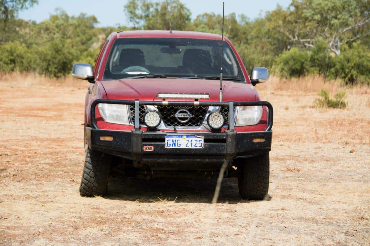 Light position for a 4WD