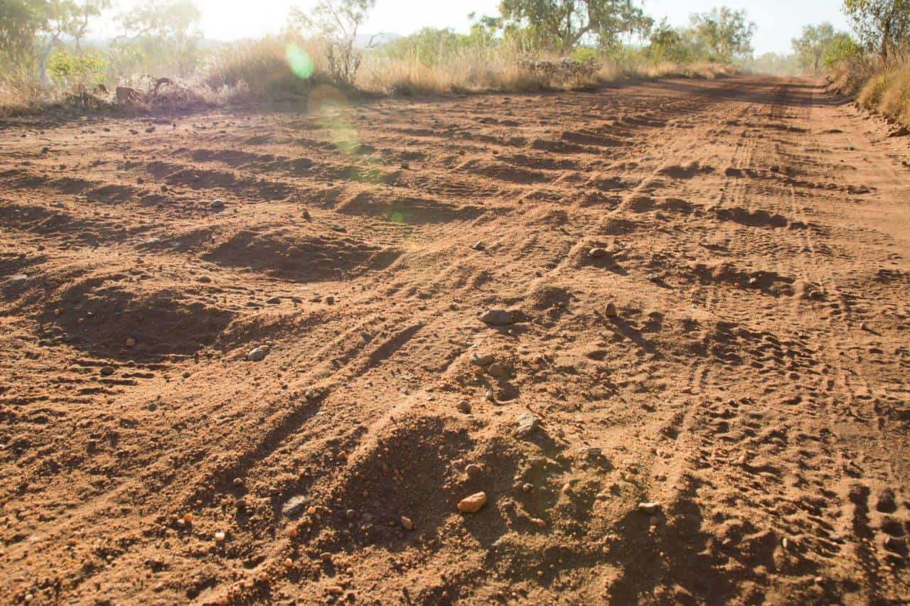 Corrugations and pressures
