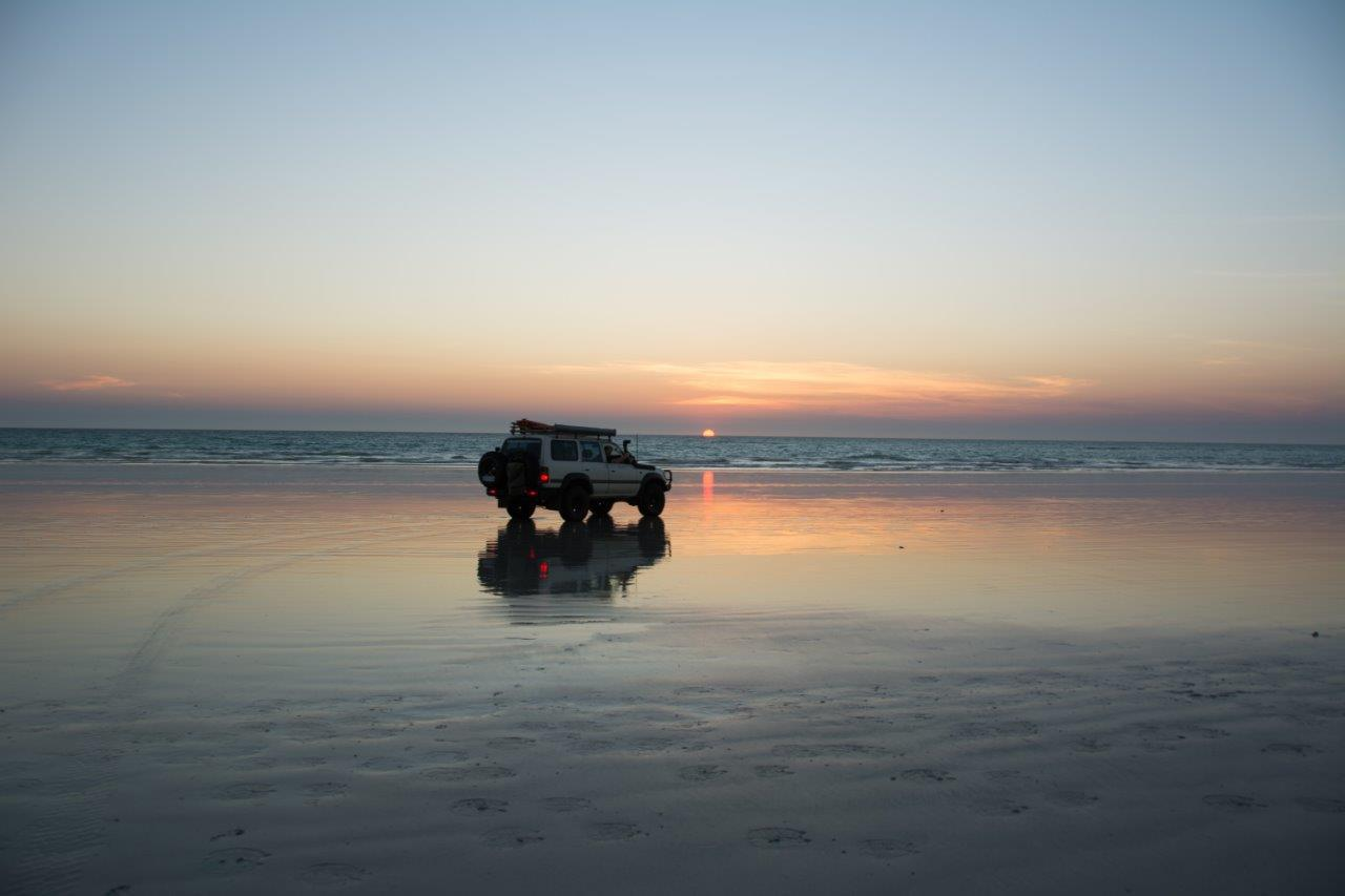 Land Cruiser at Cable Beach