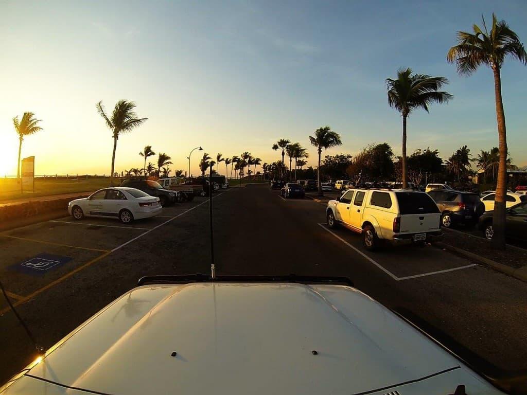 Cable Beach car park