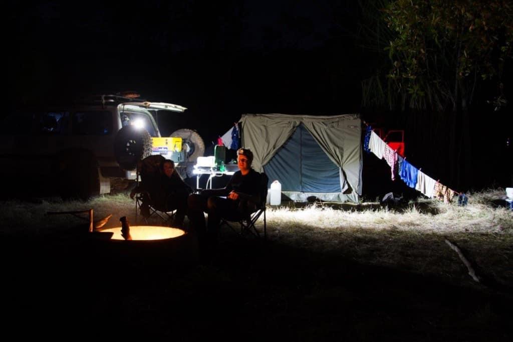 Camping at Silent Grove