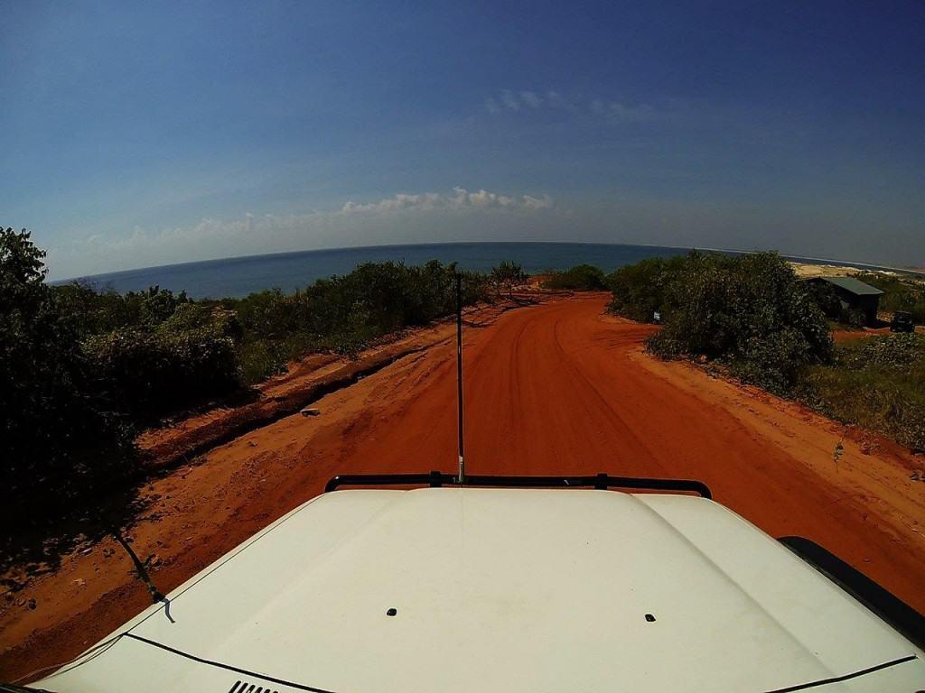 Driving around Kooljaman