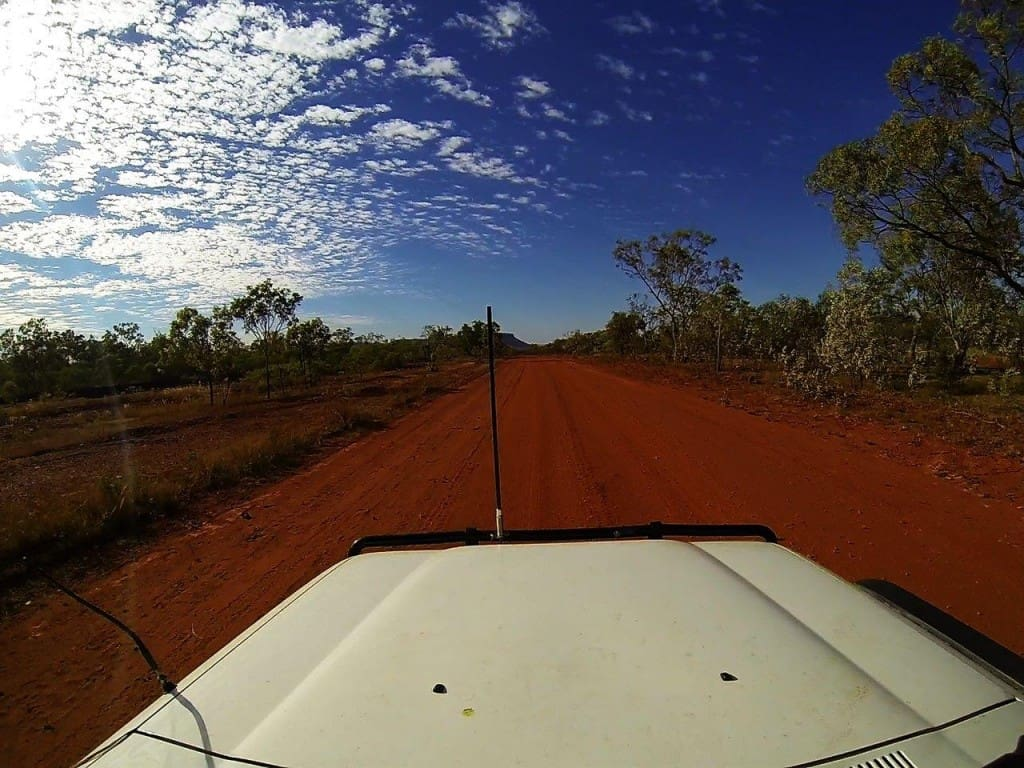 Driving in the Kimberley