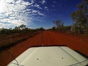 Gravel roads Australia