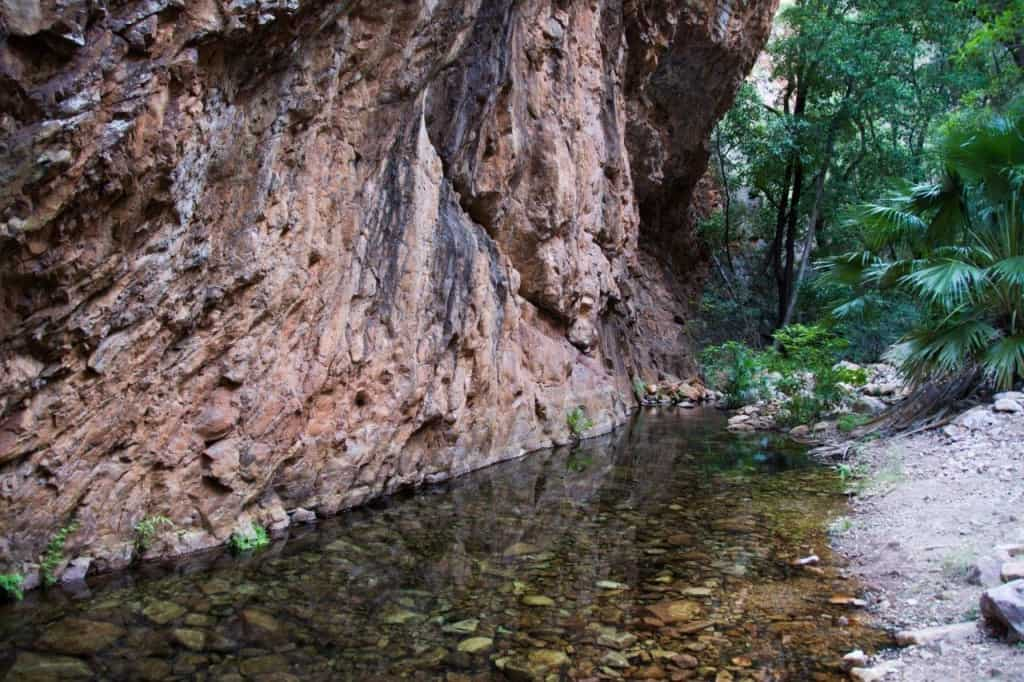 El Questro Gorge water