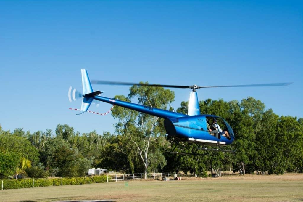 El Questro Helicopter ride