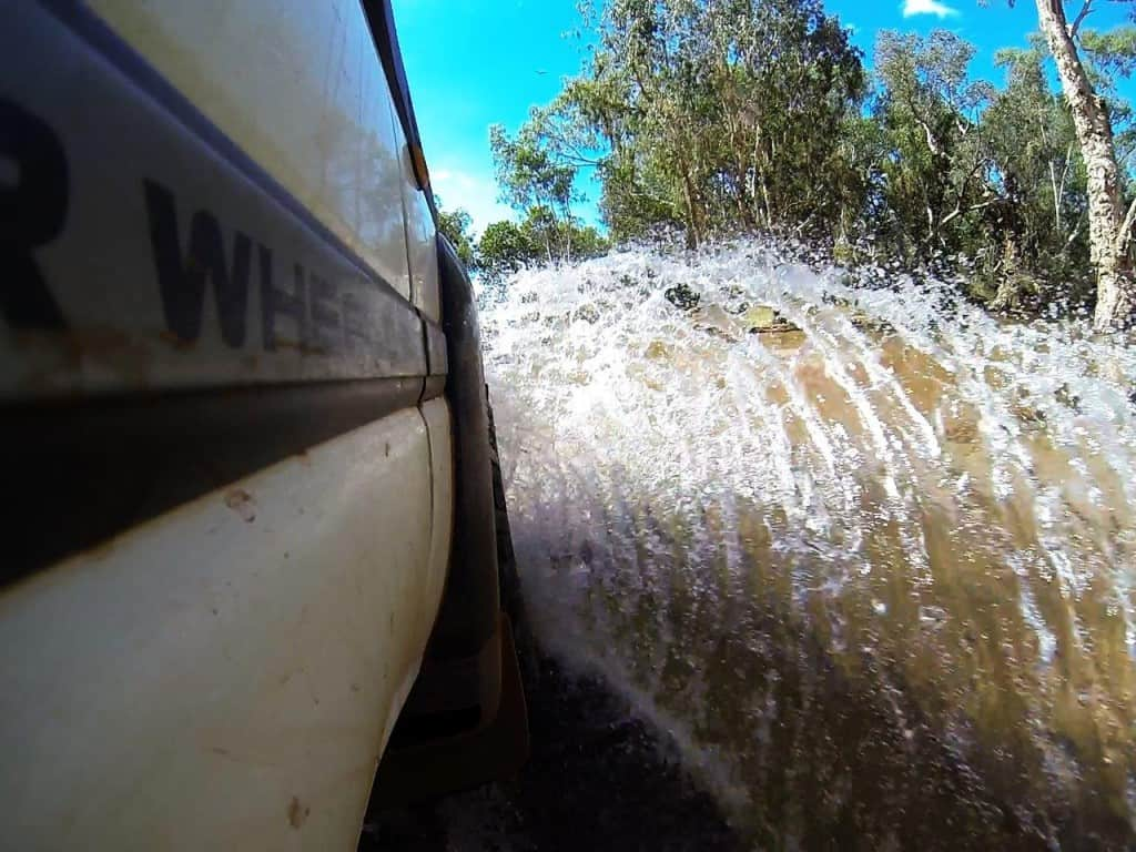 Gibb River road water