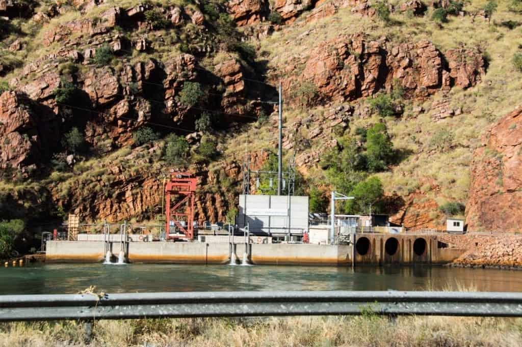 Lake Argyle Hydroelectric plant