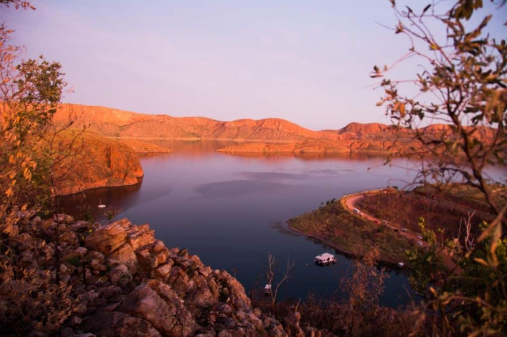 Lake argyle colours