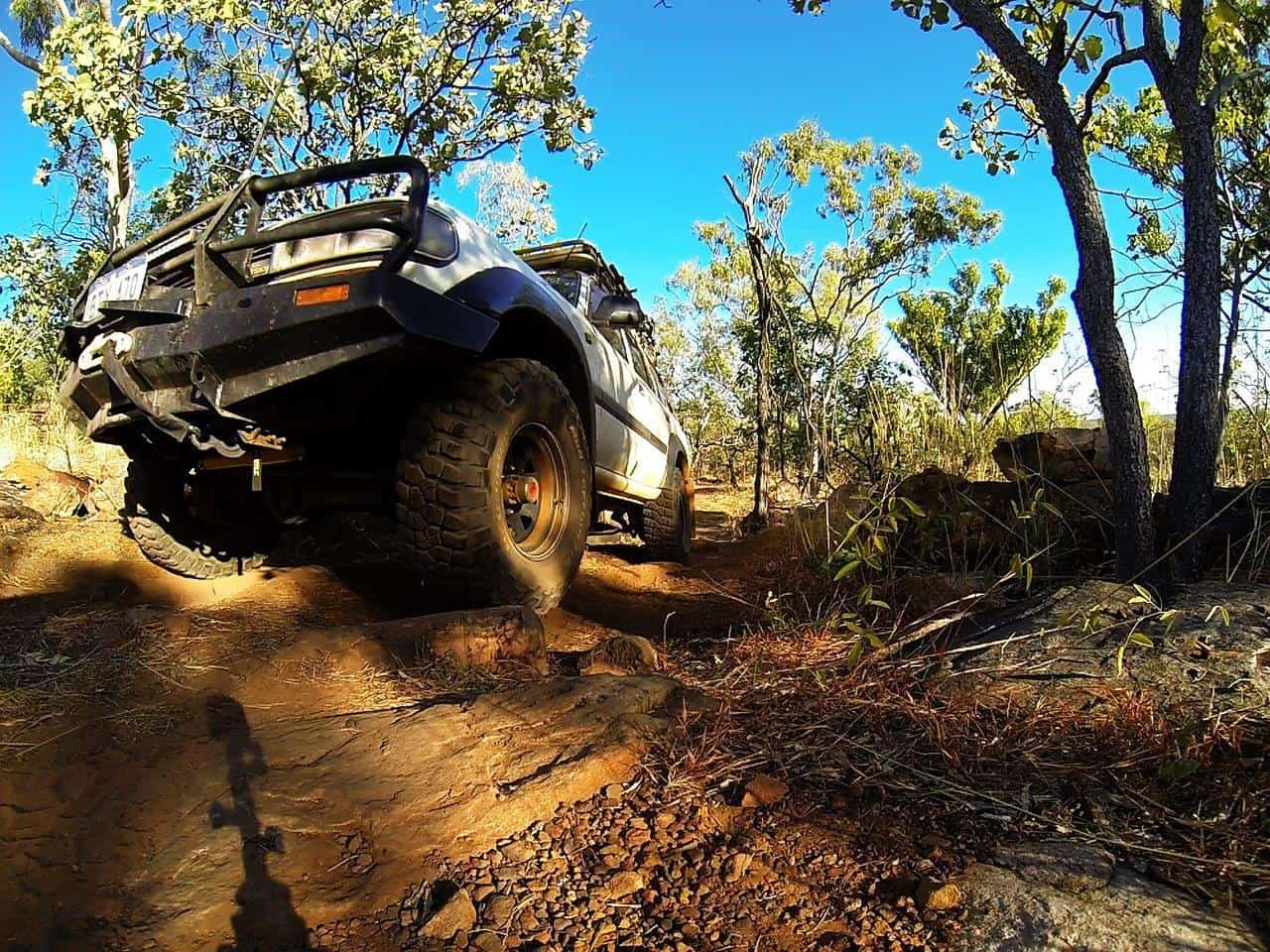 4WD track at Mt Elizabeth