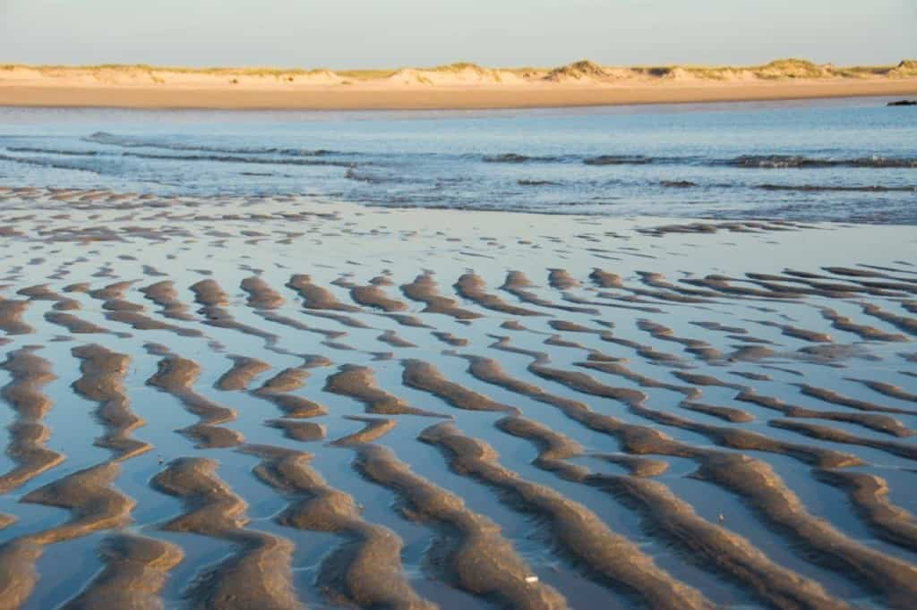 Sand formations in Broome