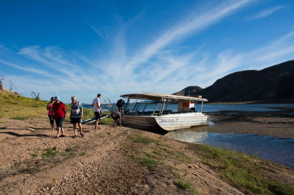 Silver cobbler 2 at Lake Argyle
