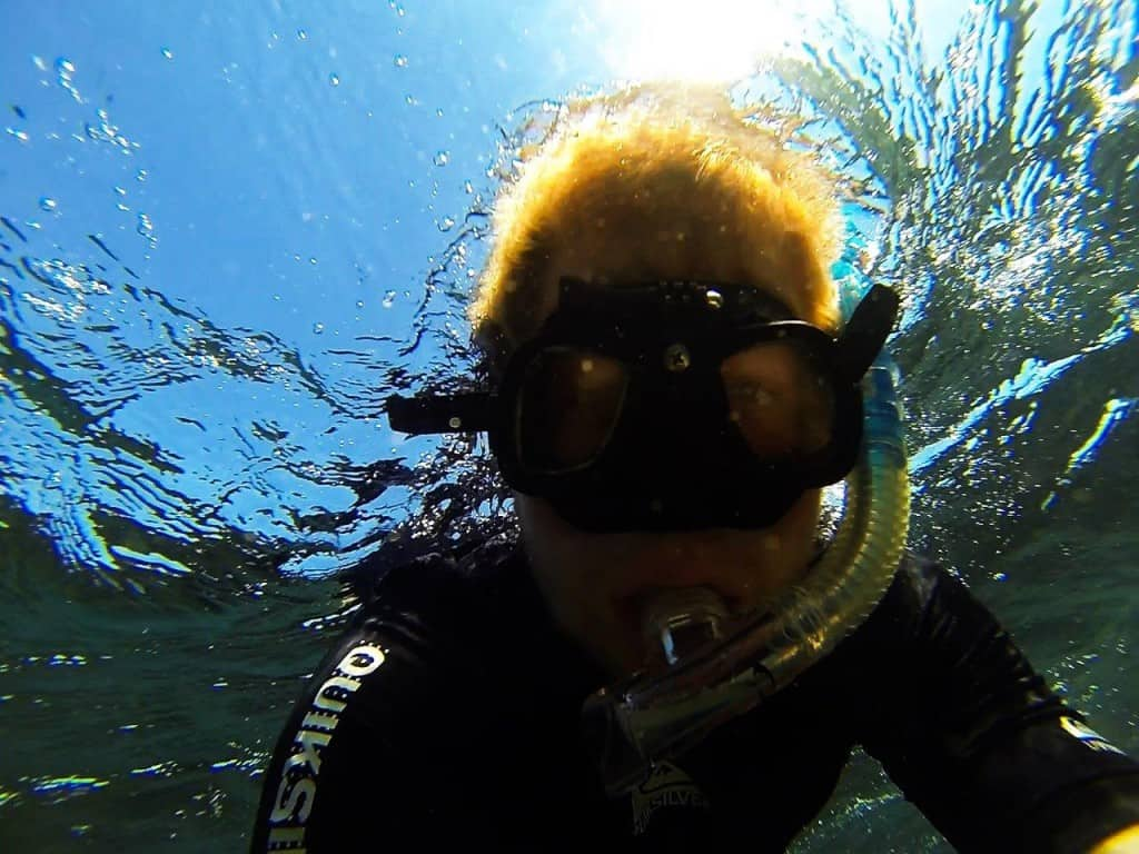 Snorkelling at Middle Lagoon