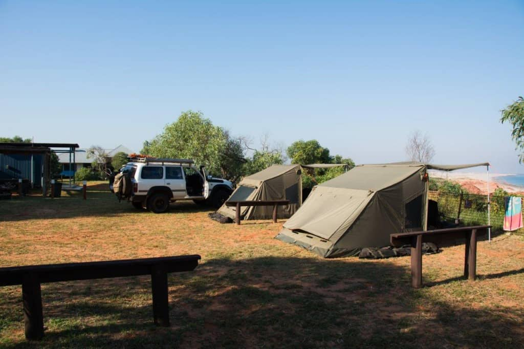 Two Oztents at Kooljaman