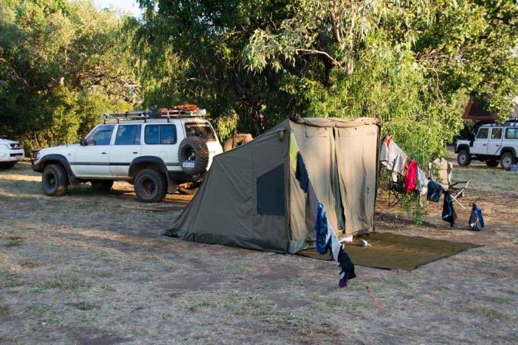 Windjana Gorge camp site
