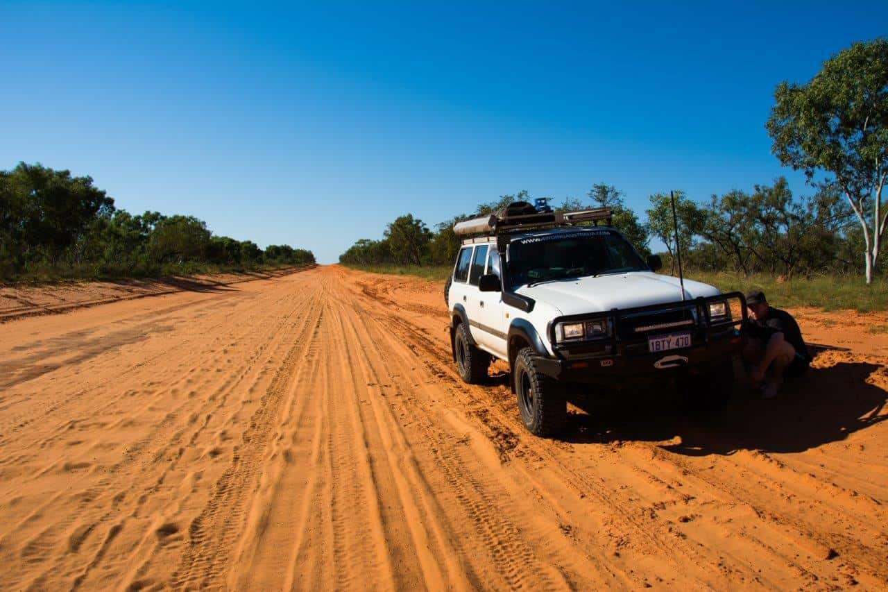 4WD Tyre puncture resistance