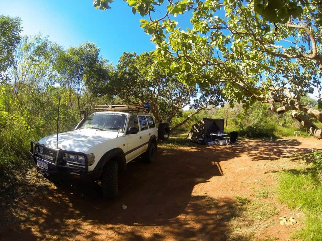 Campsite 29 Middle Lagoon