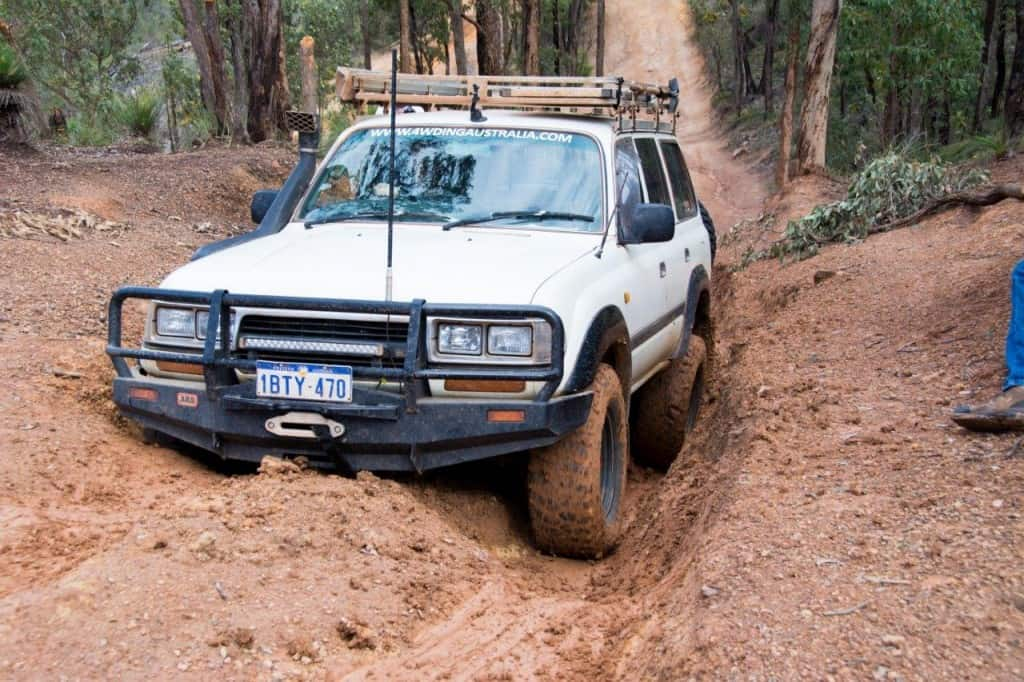 Traction in a 4WD