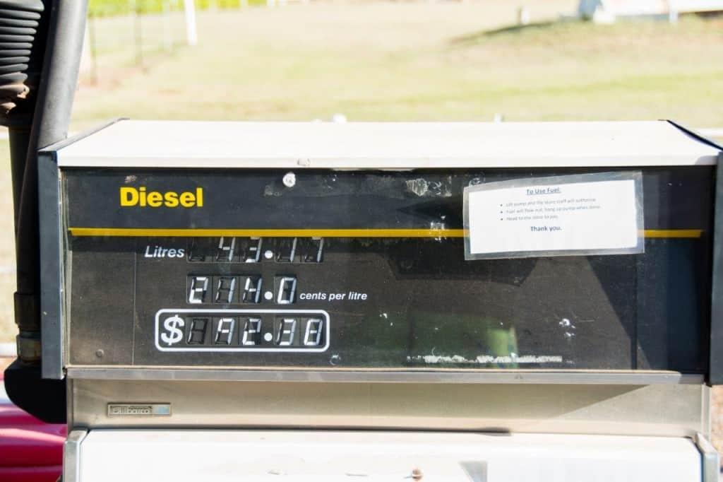 El Questro fuel prices