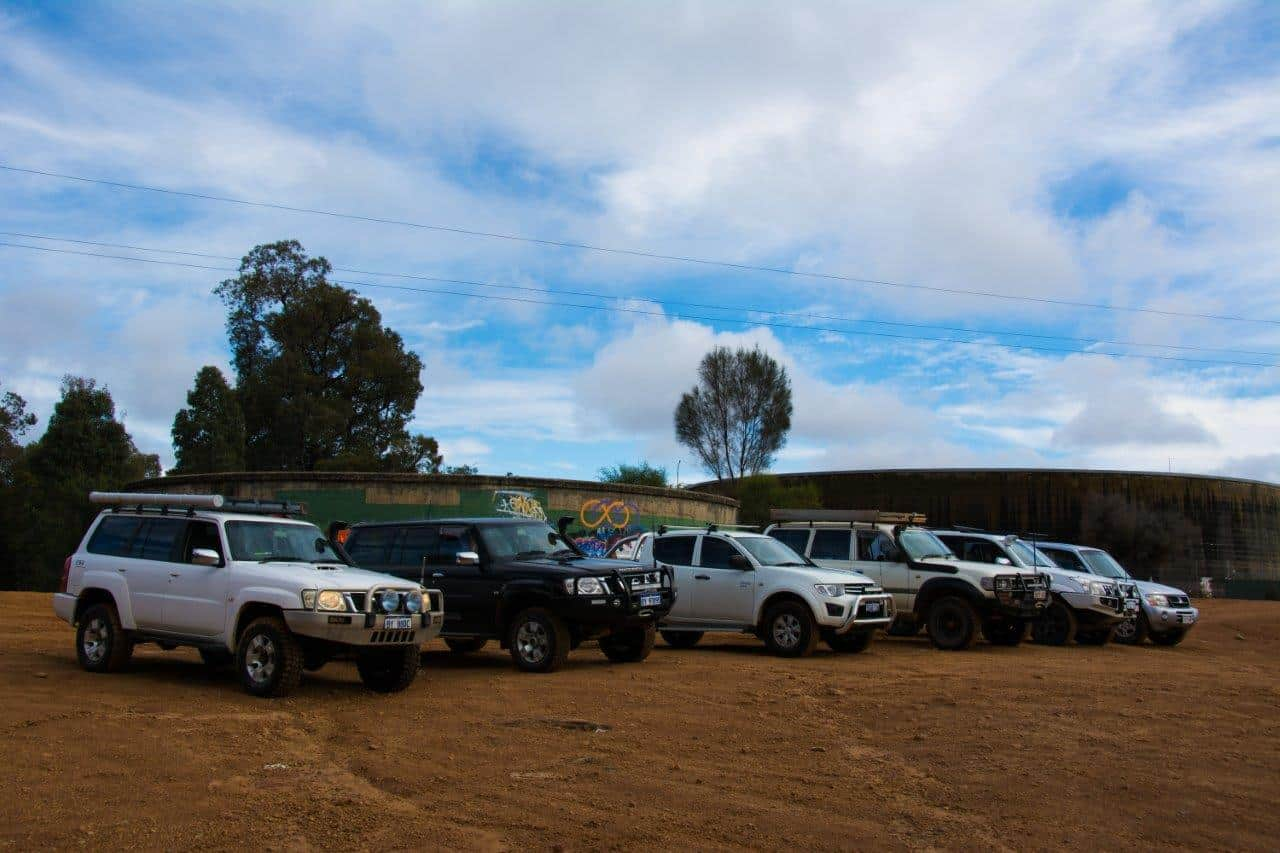 Mundaring powerlines 4x4 track
