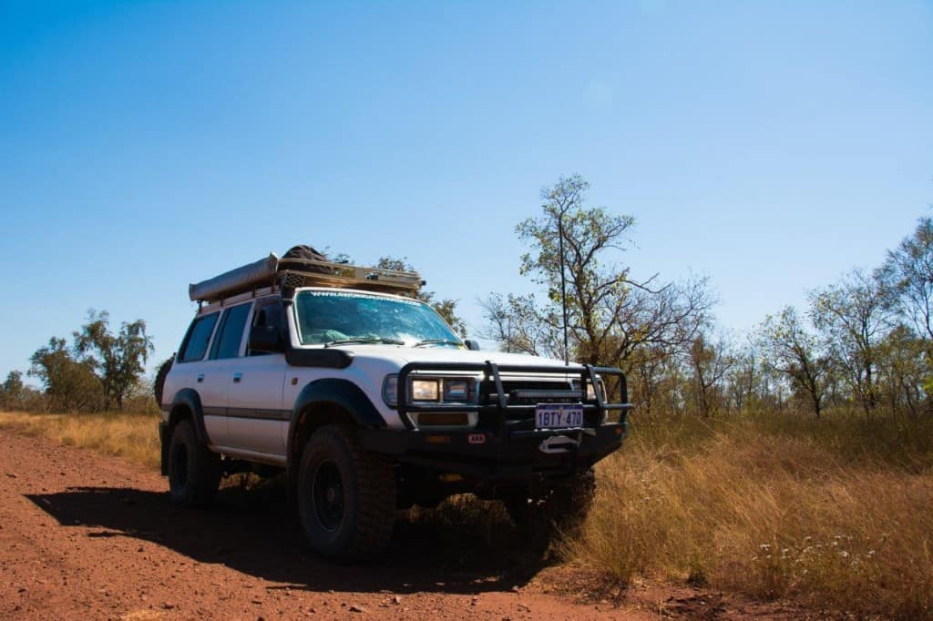 Don't overload your 4WD