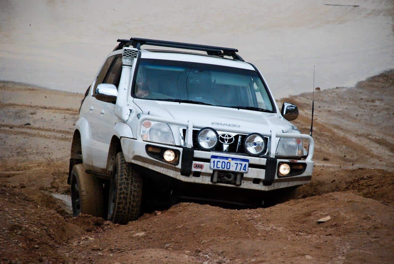 Prado traction control