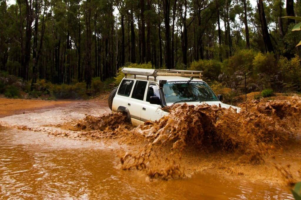 4x4 tracks around Dwellingup