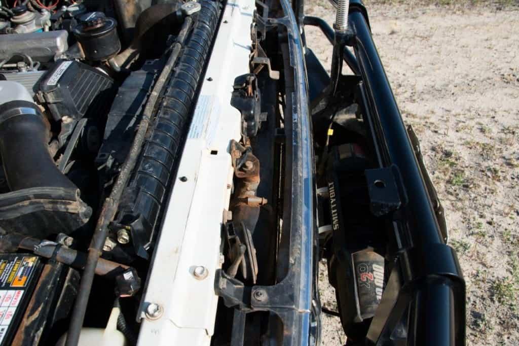 80 series safari intercooler